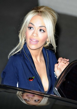 Rita Ora - Leaving a Studio in London