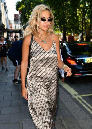 Rita Ora - Leaving Annabelle's in London