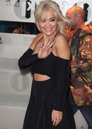 Rita Ora - Leaving BBC Radio One Studios in London