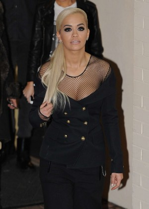 Rita Ora - Leaving Fountain Studios in London