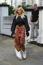 Rita Ora - Leaving her home in London