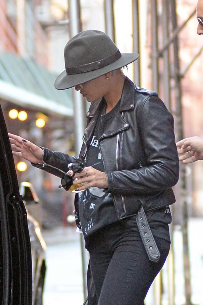 Rita Ora - Leaving her hotel in NYC