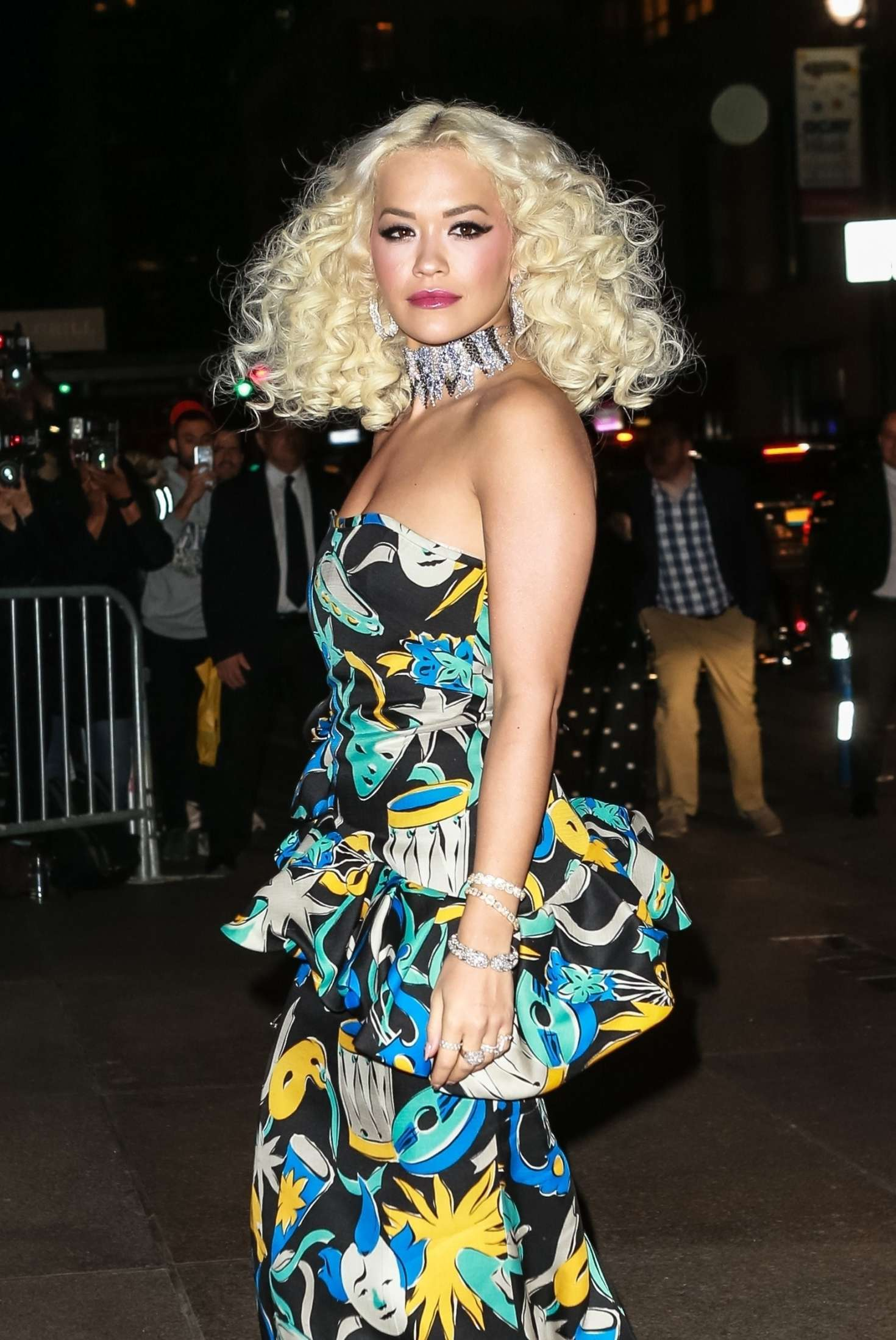 Rita Ora - Leaving Marc Jacobs Reception Party in NYC