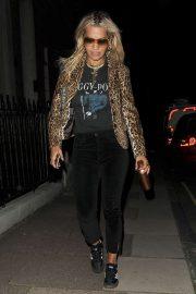 Rita Ora - Leaving Music Bank Studios in London