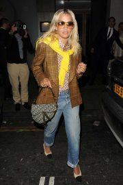 Rita Ora - Leaving Nobu Berkeley Restaurant in Mayfair