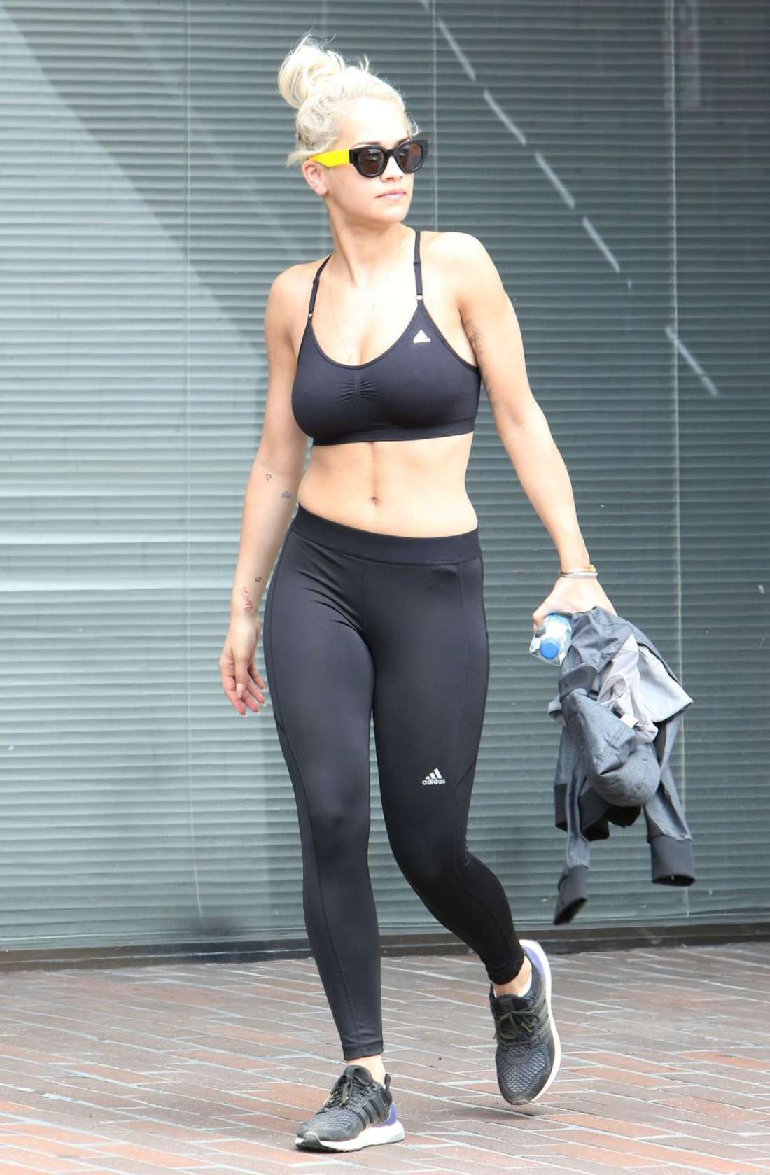 Rita Ora In Tights And Sports Bra 02 Gotceleb