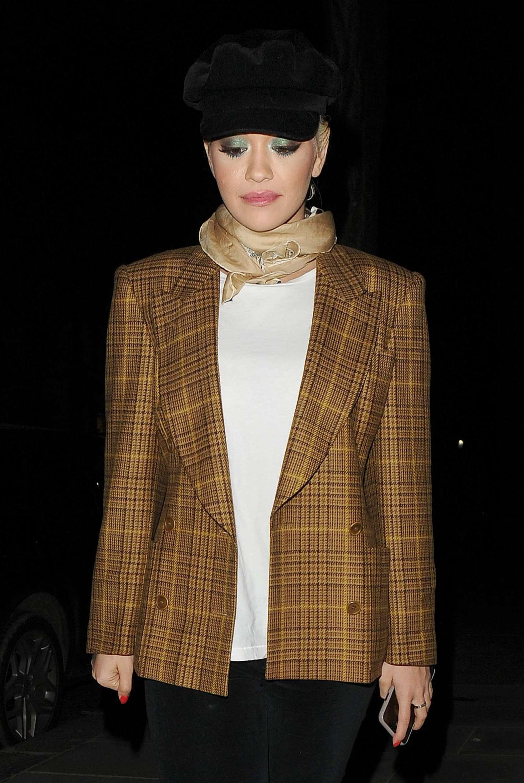 Rita Ora - Leaving Television Centre in London
