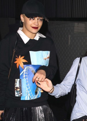 Rita Ora - Leaving the Chateau Marmont in West Hollywood