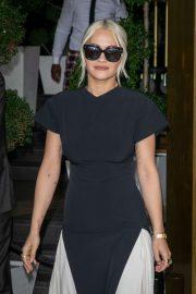 Rita Ora - Leaving The J.W. Marriott Hotel in Cannes