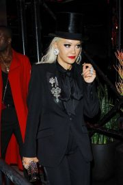 Rita Ora - Leaving the Met Gala After Party in New York