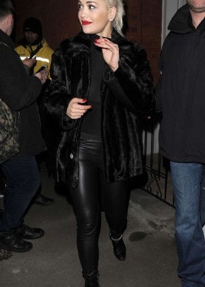 Rita Ora: Leaving the Shepherds Bush Empire -16