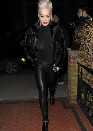 Rita Ora: Leaving the Shepherds Bush Empire -21