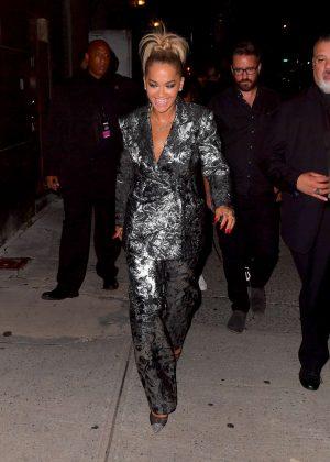 Rita Ora - Leaving the VMA Pre-Concert in New York