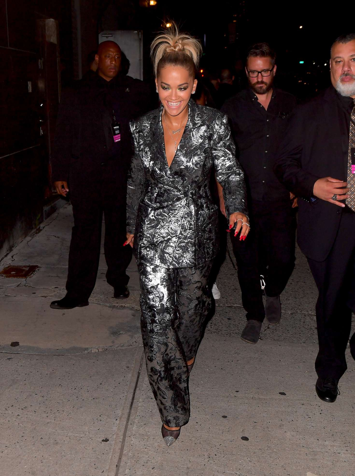 Rita Ora – Leaving the VMA Pre-Concert in New York