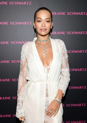 Rita Ora - Lorraine Schwartz Eye Bangles Collection Launch in West Hollywood