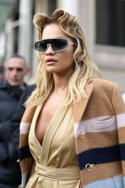 Rita Ora - Miu Miu 2020 Paris Fashion Week Womenswear F-W 20-21