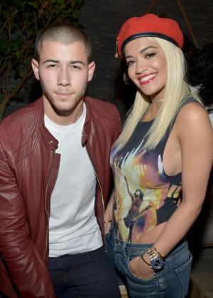 Rita Ora - Nick Jonas' Album Party Launch in West Hollywood