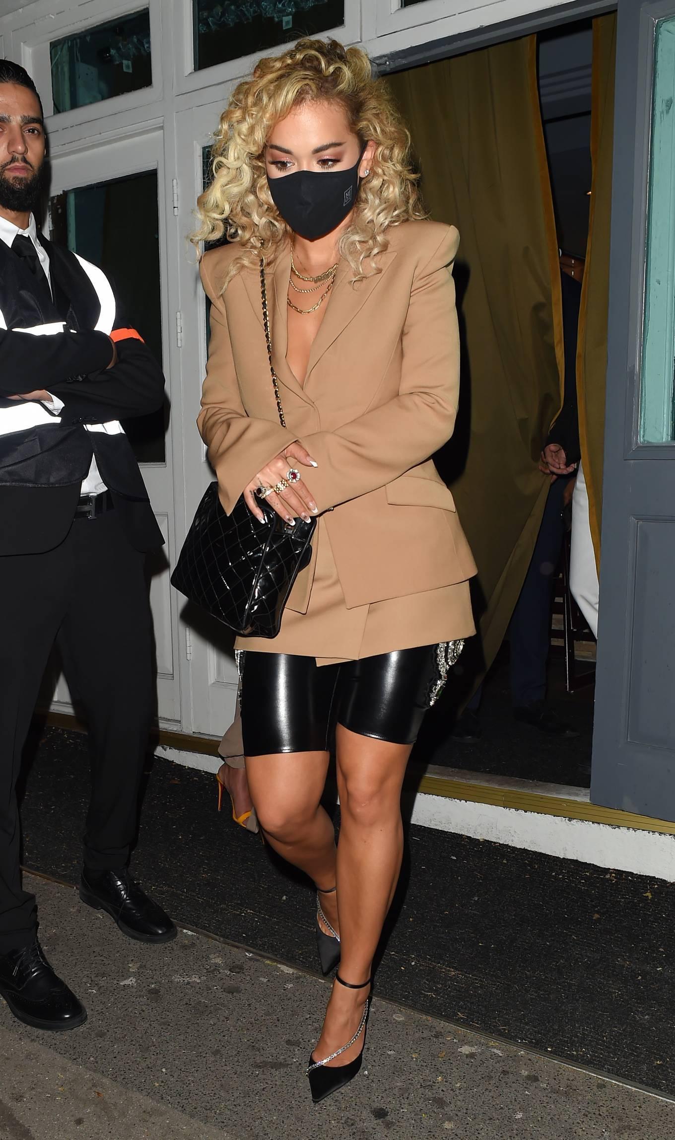 Rita Ora 2020 : Rita Ora – Night out at the Broadway Muswell Hill in London-01