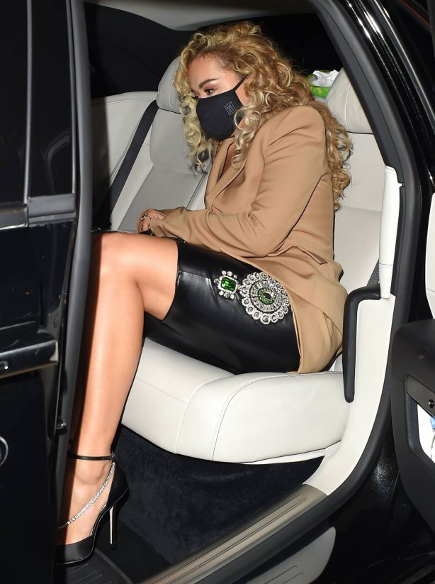 Rita Ora - Night out at the Broadway Muswell Hill in London