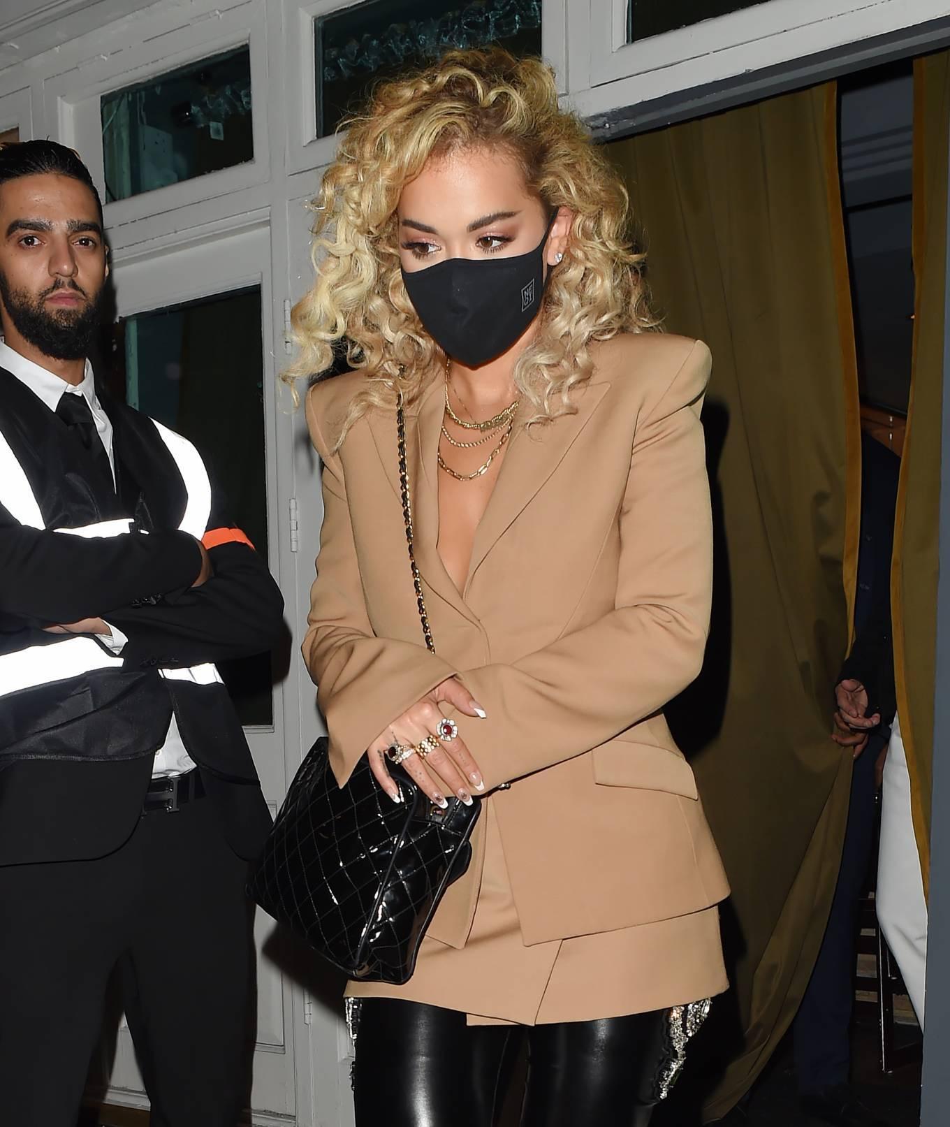Rita Ora 2020 : Rita Ora – Night out at the Broadway Muswell Hill in London-09