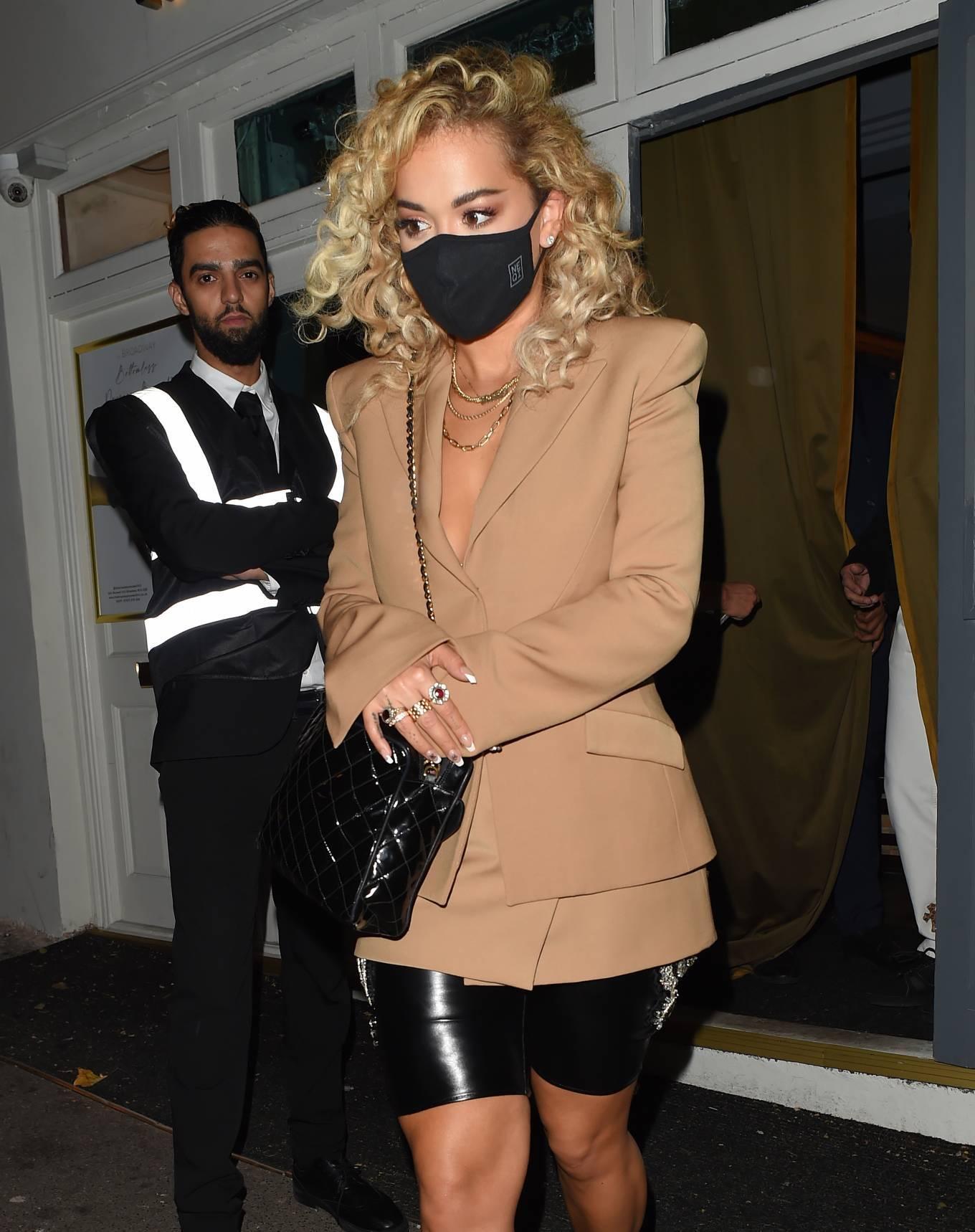 Rita Ora 2020 : Rita Ora – Night out at the Broadway Muswell Hill in London-13