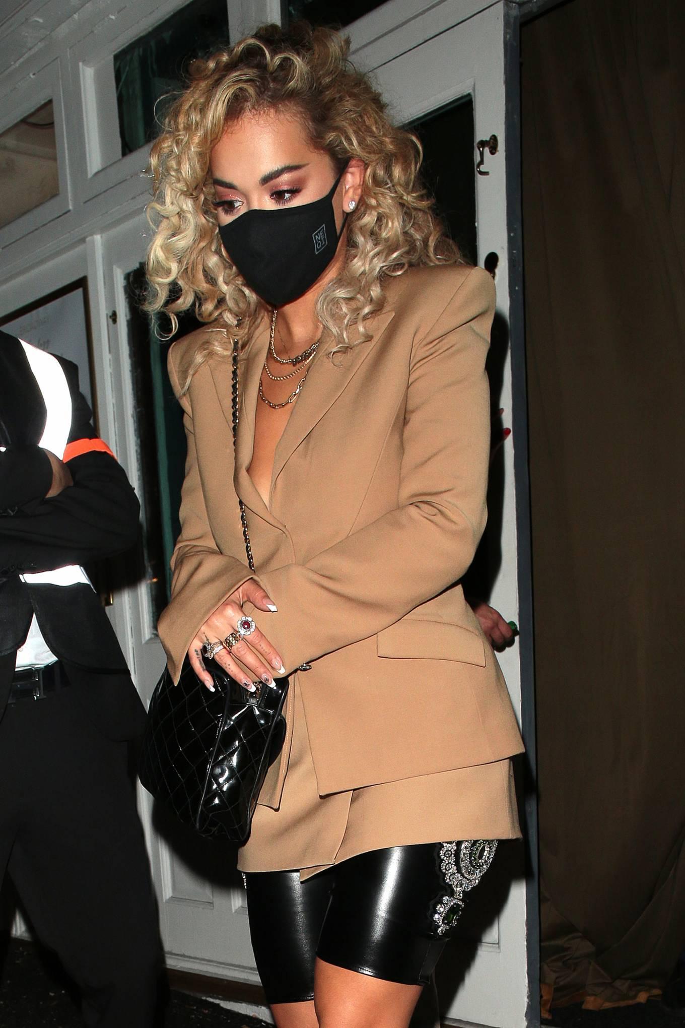 Rita Ora 2020 : Rita Ora – Night out at the Broadway Muswell Hill in London-14