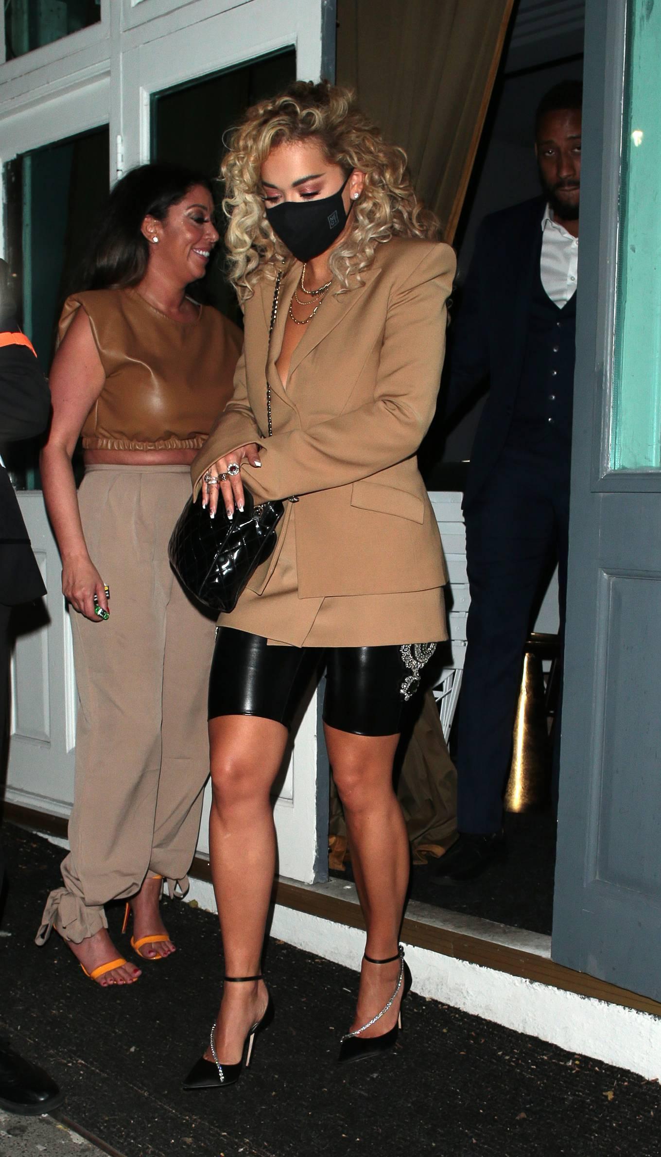 Rita Ora 2020 : Rita Ora – Night out at the Broadway Muswell Hill in London-17