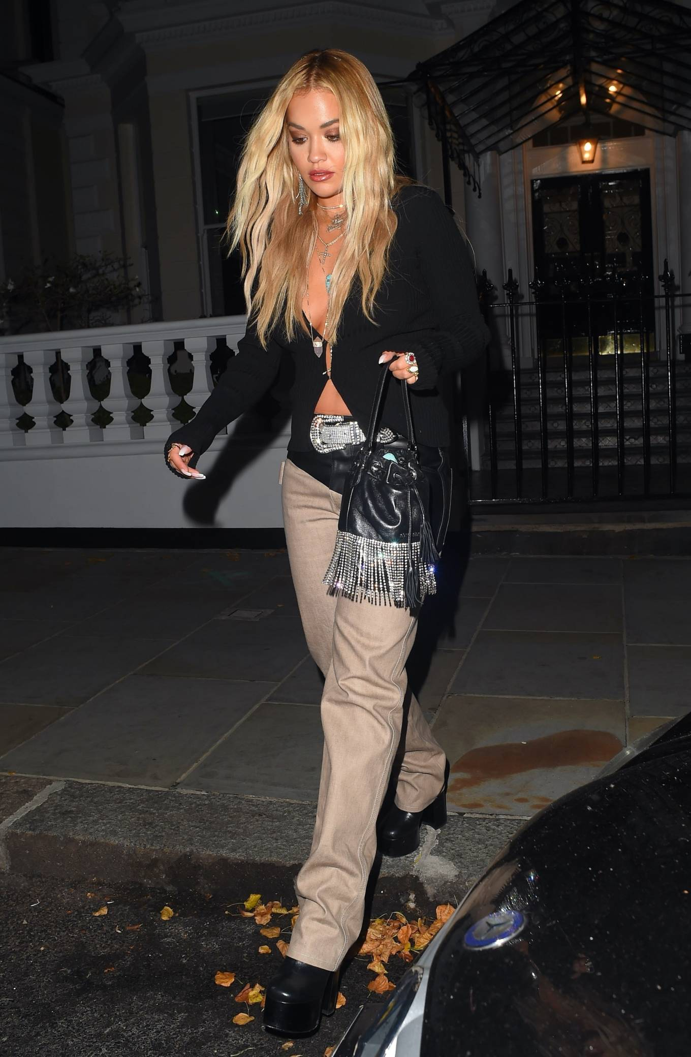 Rita Ora - Night out in London