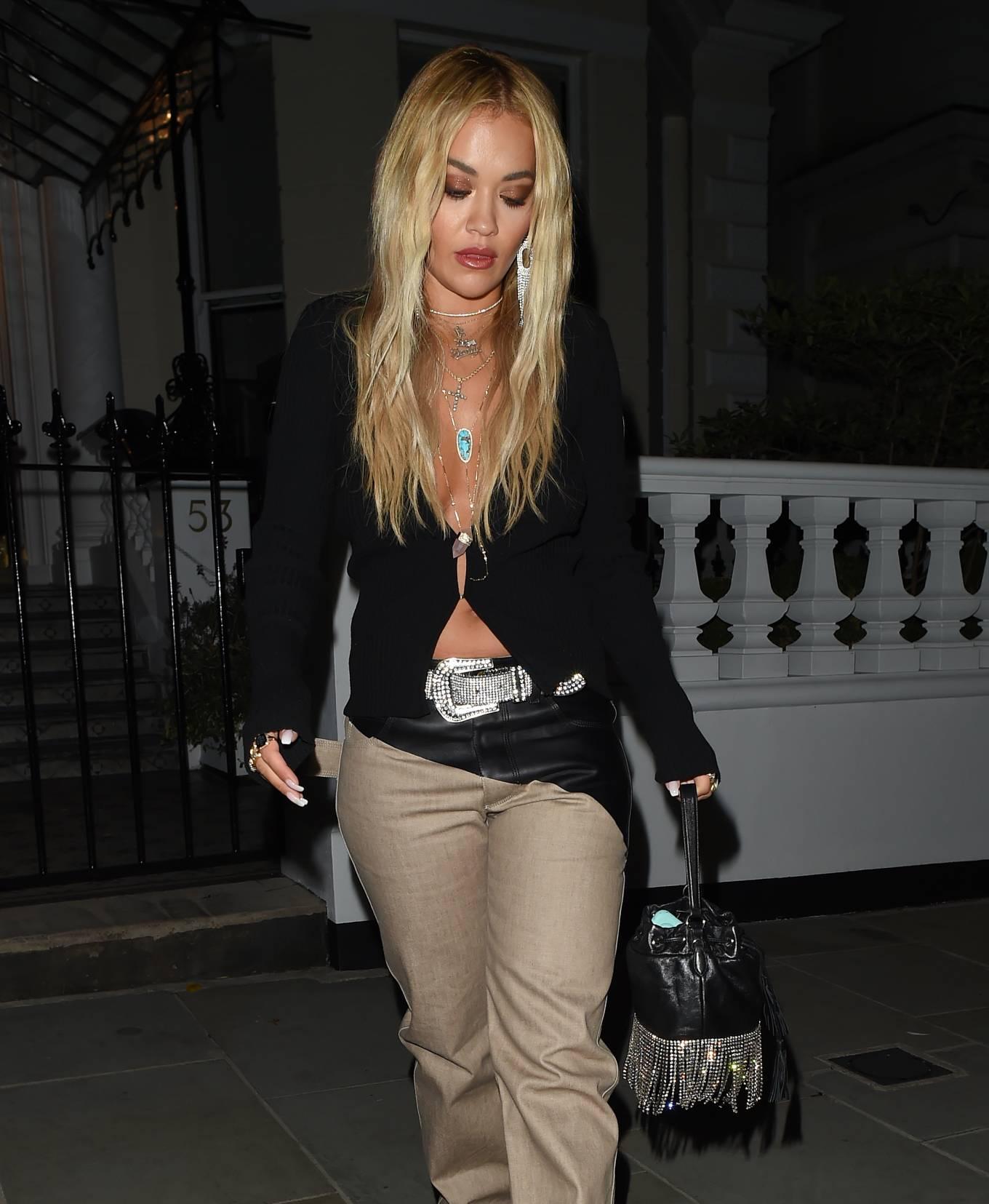 Rita Ora 2020 : Rita Ora – Night out in London-04