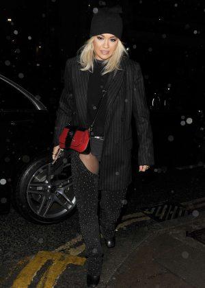 Rita Ora - Night out in London