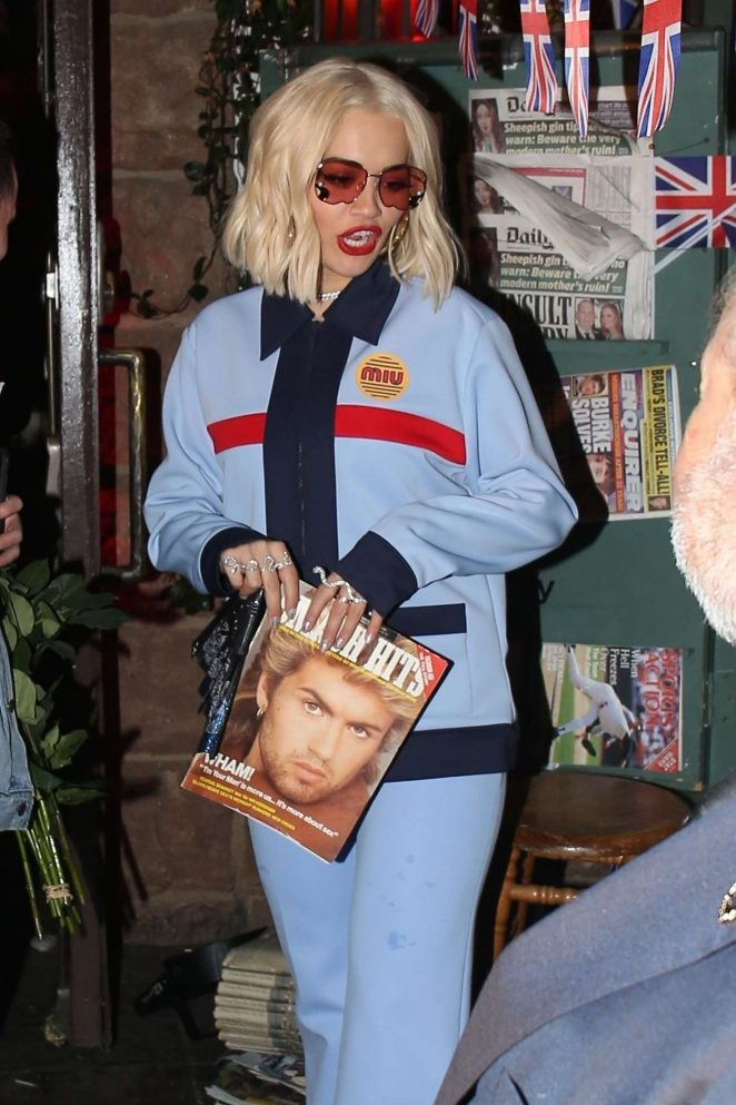 Rita Ora - Night out in West Hollywood