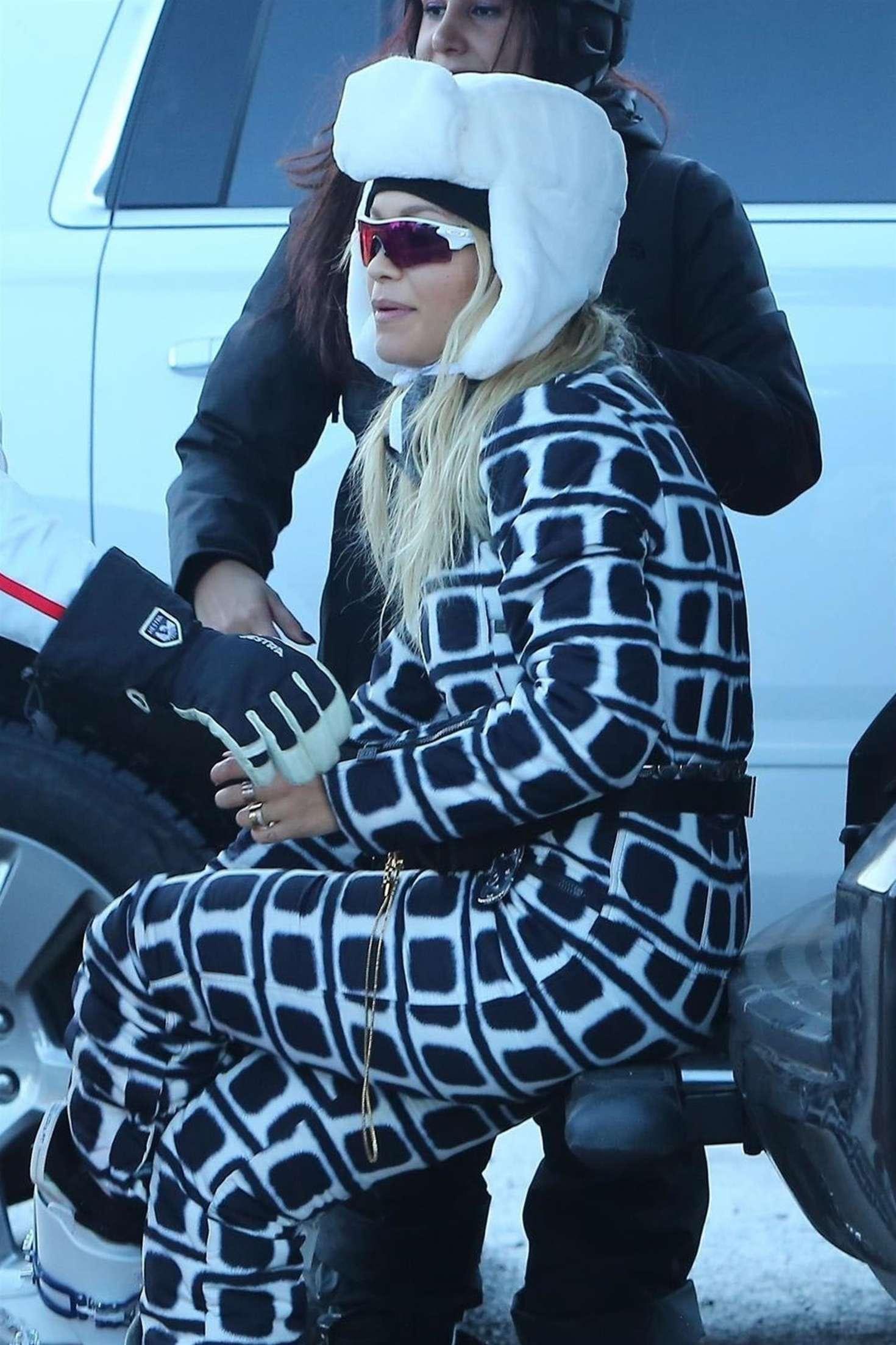 Rita Ora - On a holiday in Aspen