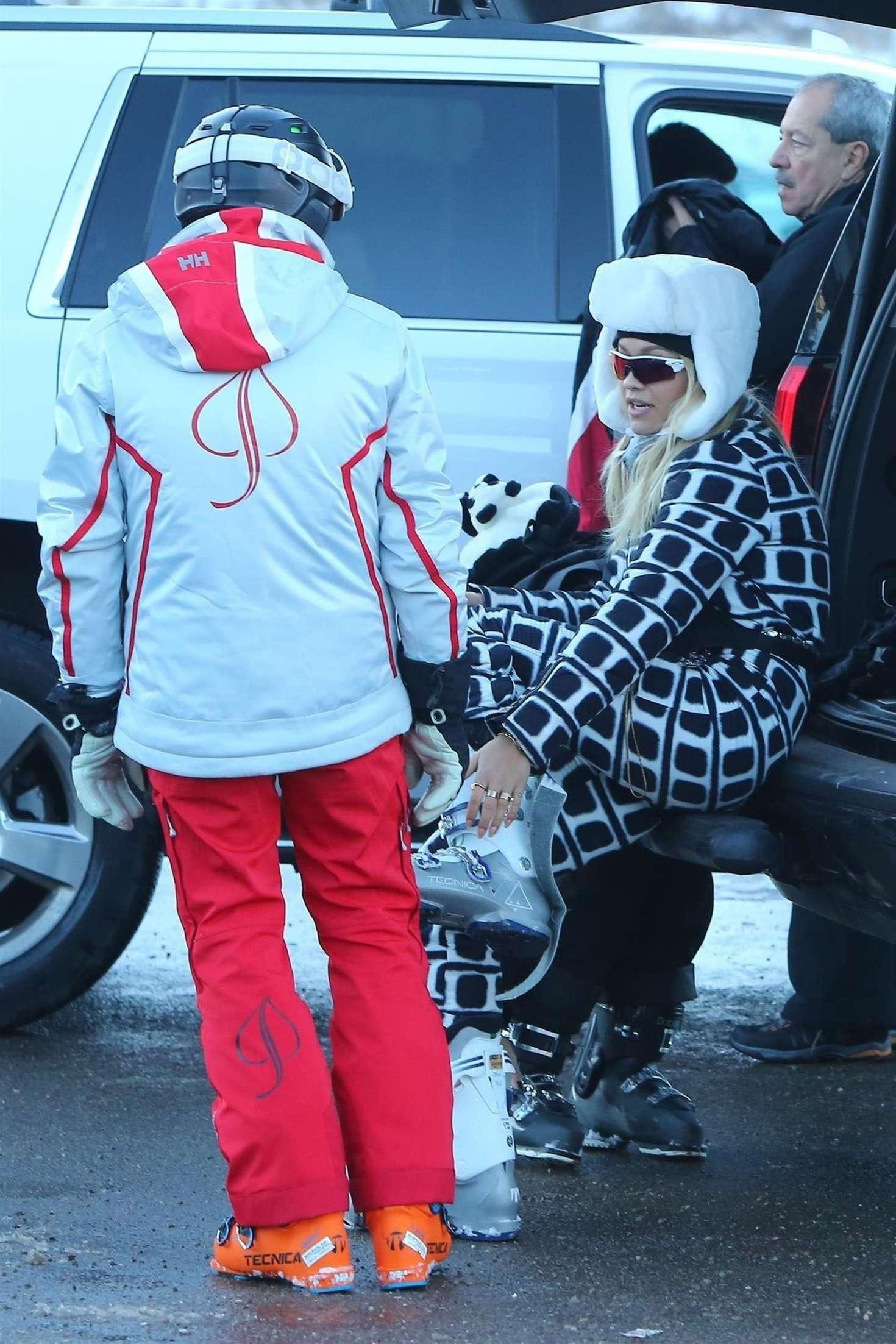 Rita Ora 2017 : Rita Ora: On a holiday in Aspen -15