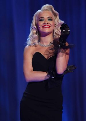 Rita Ora - On The Graham Norton New Year's Eve Show in London