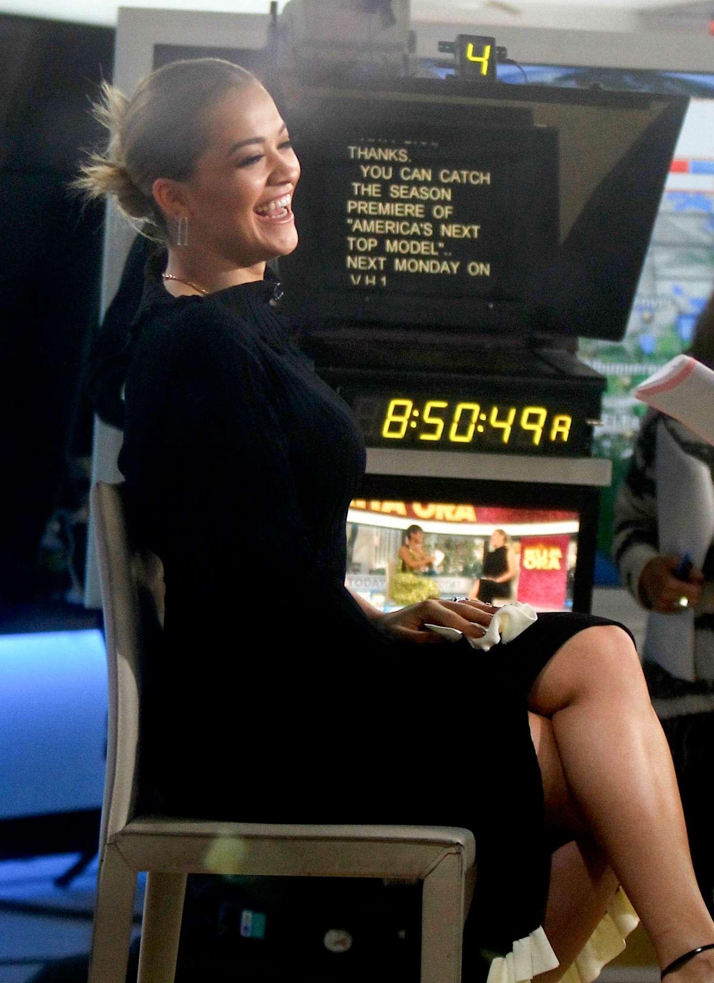 Rita Ora on 'Today' Show in New York