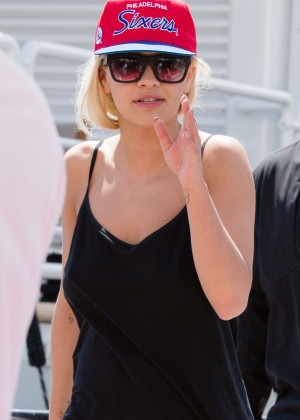 Rita Ora - Out and about in Cannes
