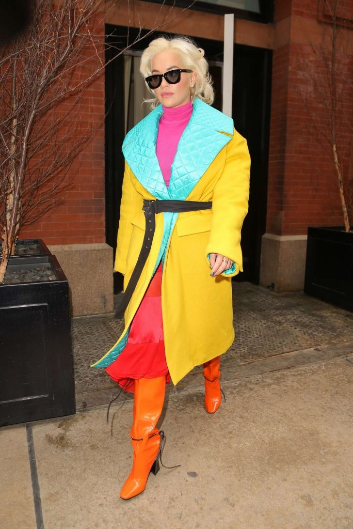 Rita Ora: Out and about in NYC -01
