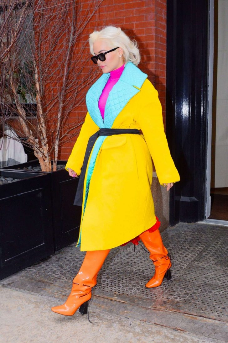 Rita Ora: Out and about in NYC -06