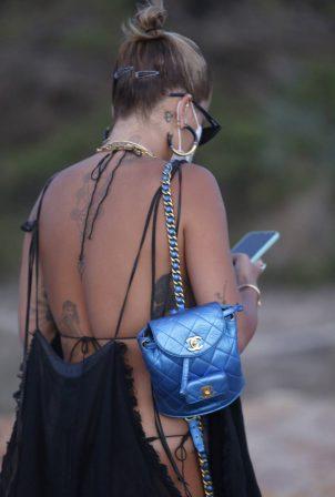Rita Ora - Out for a stroll in Ibiza