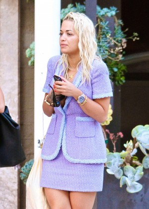 Rita Ora out in Beverly Hills