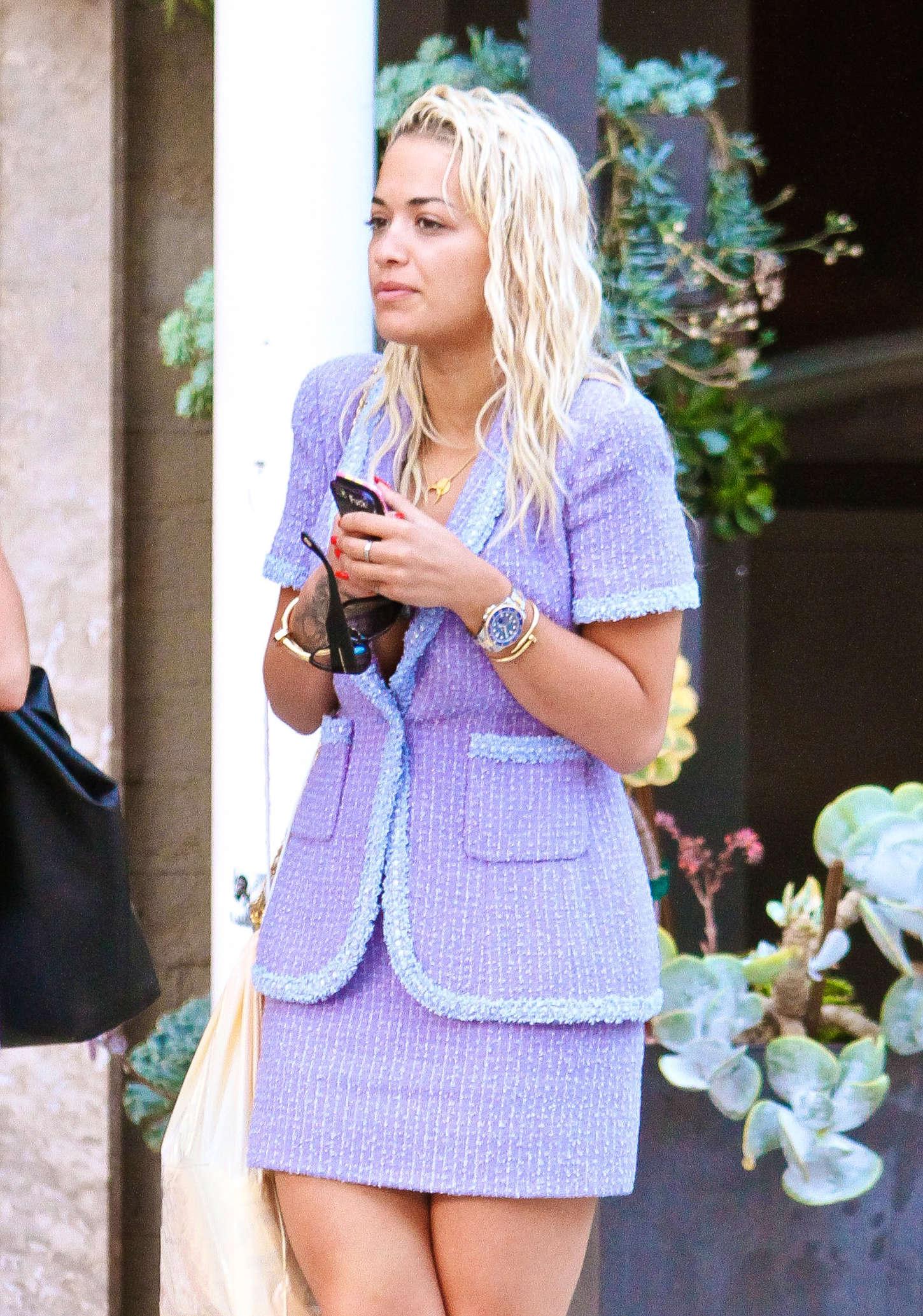 Rita Ora out in Beverly Hills