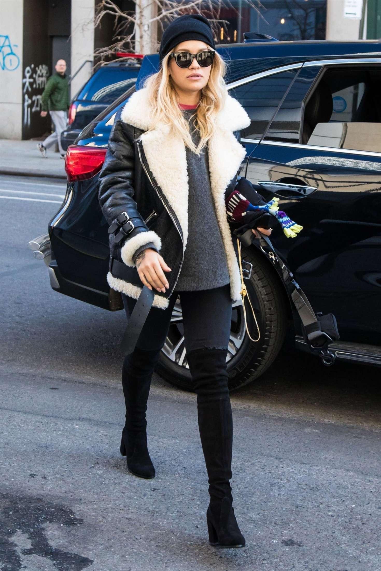 Rita Ora 2017 : Rita Ora out in London -04