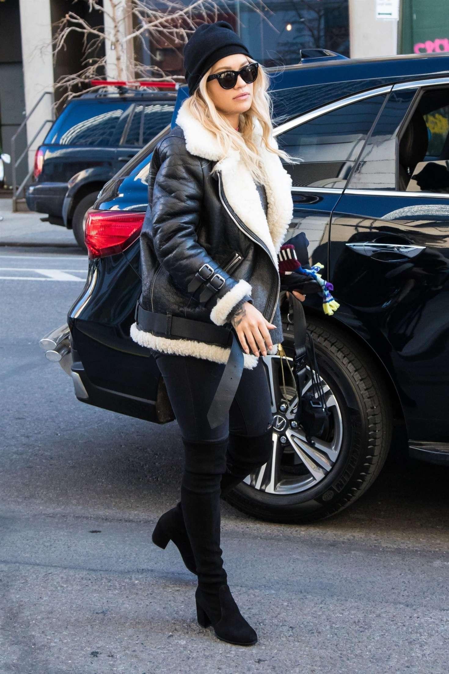 Rita Ora 2017 : Rita Ora out in London -05