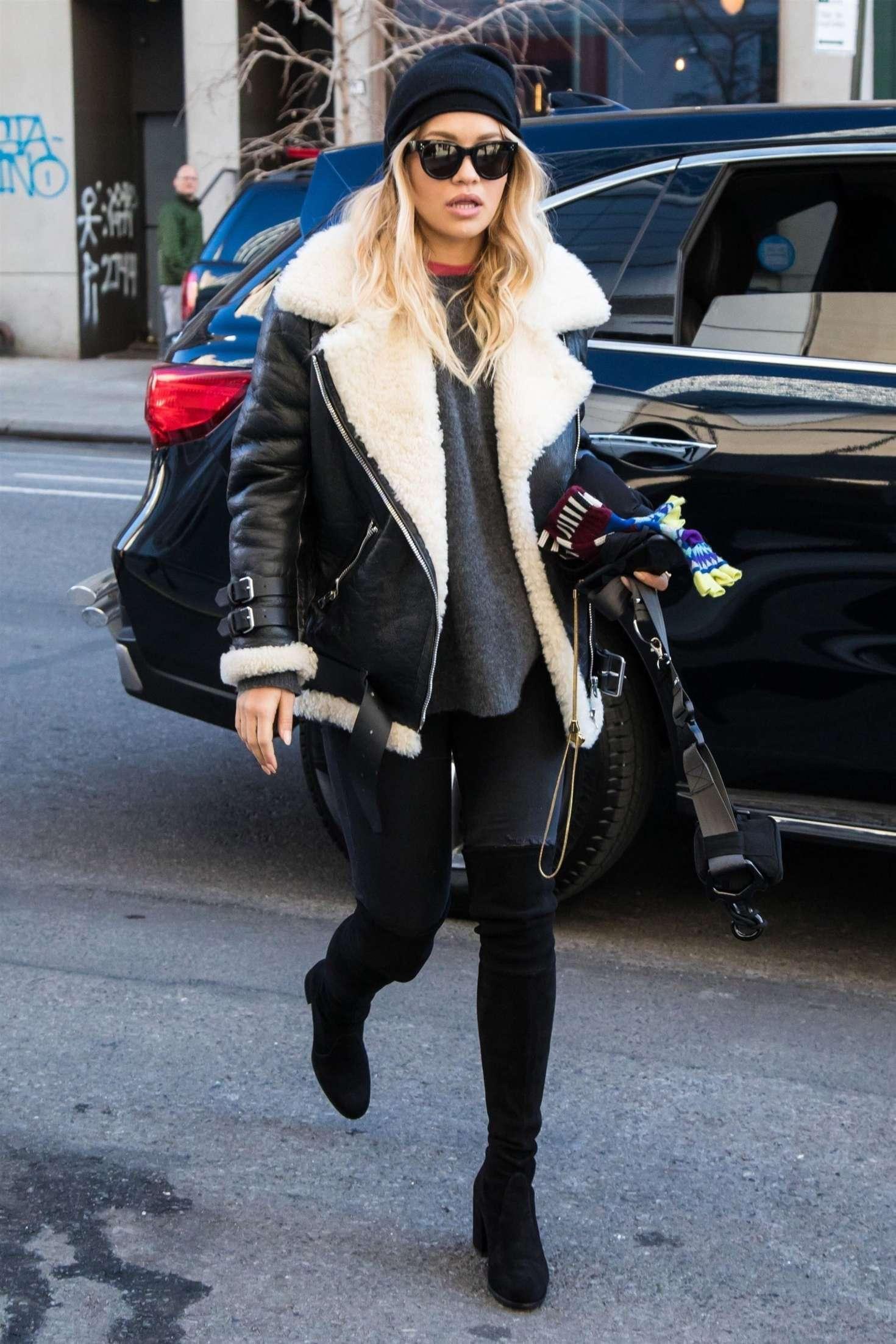 Rita Ora 2017 : Rita Ora out in London -06