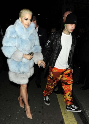 Rita Ora with boyfrien... Rihanna Boyfriend
