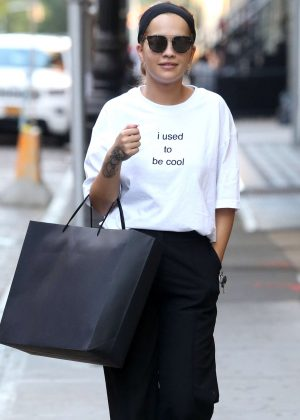Rita Ora out shopping in New York City