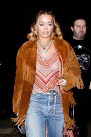 Rita Ora - Out with friends in Los Feliz