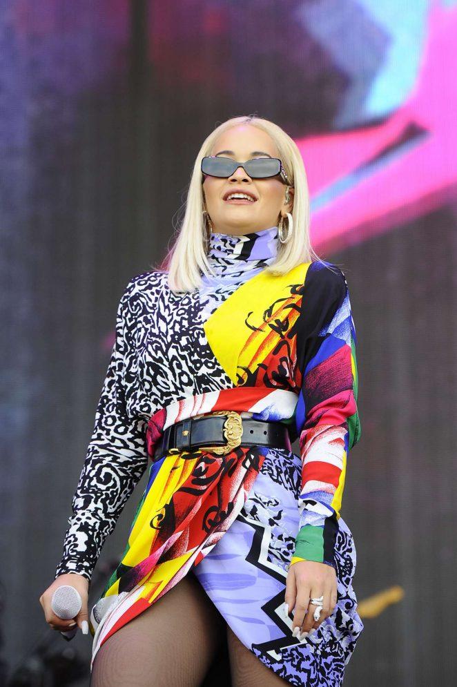 Rita Ora - Performing at BBC Radio 2 Live in London
