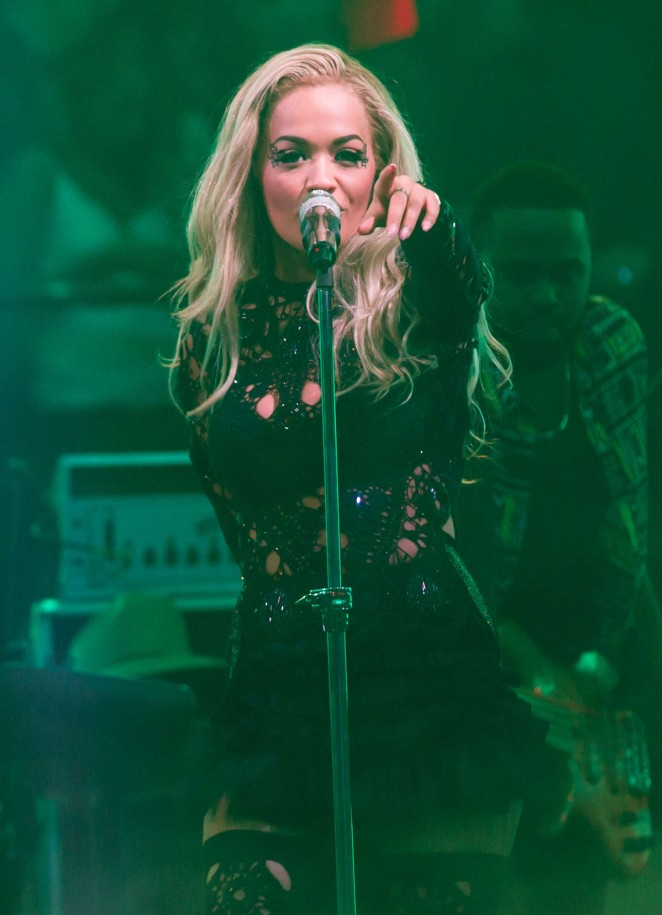Rita Ora - Performing at Drai's Nightclub in Las Vegas