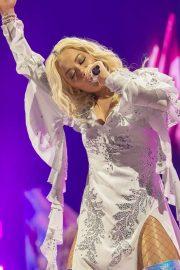 Rita Ora - Performing at Liverpool M&S Bank Arena in Liverpool
